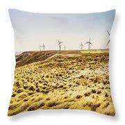 Windswept Tasmania Throw Pillow