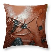 Windswept- Tile Throw Pillow