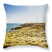 Windy Meadows Throw Pillow