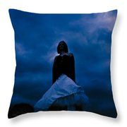 Windy Mistery Throw Pillow