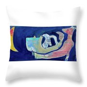 Windy Night Throw Pillow