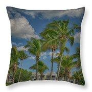 Windy Sanibel Day Throw Pillow