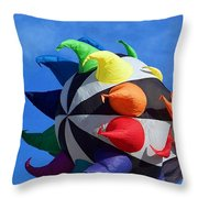 Windy Toy Throw Pillow