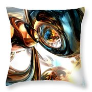 Wine And Spirits Abstract Throw Pillow