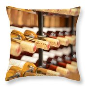 Wine Anyone? Throw Pillow