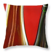 Wine Bottles 7 Throw Pillow