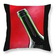 Wine Bottles 8 Throw Pillow