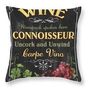 Wine Cellar 2 Throw Pillow