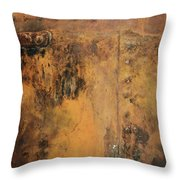 Wine Corrosed Throw Pillow