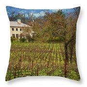 Wine Country California 1 Throw Pillow