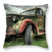 Wine Delivery Throw Pillow