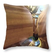 Wine-ding Down Throw Pillow