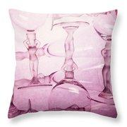 Wine Goddesses Throw Pillow
