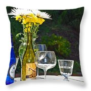 Wine Me Up Throw Pillow