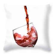 Wine3 Throw Pillow