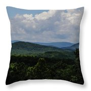 Winery Hlils Throw Pillow