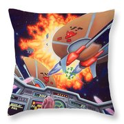 Wing Commander 1992 Throw Pillow
