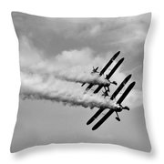 Wing Walkers Throw Pillow