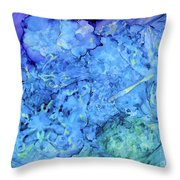 Winged Chaos Under The Moon Throw Pillow