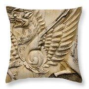 Winged Dragon Throw Pillow