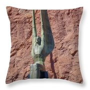 Winged Figures Of The Republic Throw Pillow