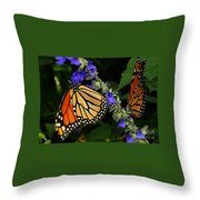 Winged Life Throw Pillow