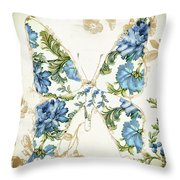 Winged Tapestry Iv Throw Pillow