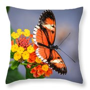 Winged Tiger Throw Pillow