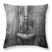 Winged Weeder II Throw Pillow
