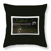 Wingman Throw Pillow