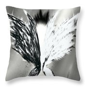 Wings No.1 Throw Pillow