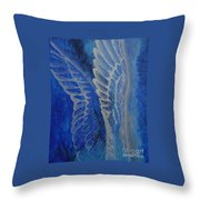 Wings Of Angel Throw Pillow