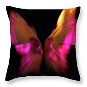 Wings Of Death Throw Pillow