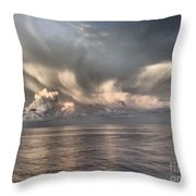 Wings Of Dove Throw Pillow