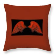 Wings Of Fire Throw Pillow