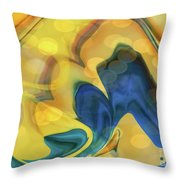 Wings Of The Dove Throw Pillow