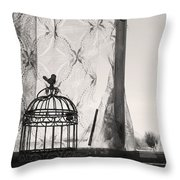 Wings Remember Throw Pillow