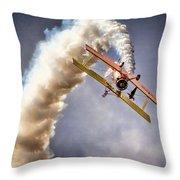 Wingwalker Throw Pillow