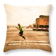 Winning....  For Now Throw Pillow