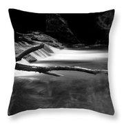 Winooski River Throw Pillow