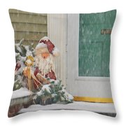 Winter - Christmas - Oh Oh Brrr Throw Pillow