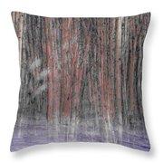 Winter Aspen Throw Pillow