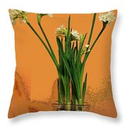 Winter Beauty II Throw Pillow