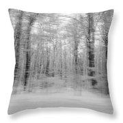 Winter Blast Throw Pillow