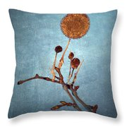 Winter Branch Throw Pillow
