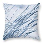 Winter Breeze Throw Pillow by Priska Wettstein