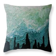 Winter Comes Throw Pillow