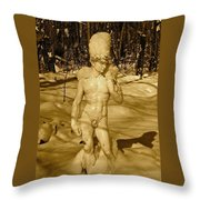 Winter David Throw Pillow