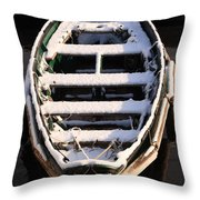Winter Dory Throw Pillow