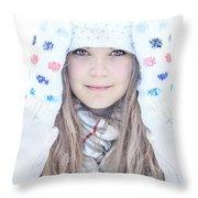 Winter Dreams Throw Pillow